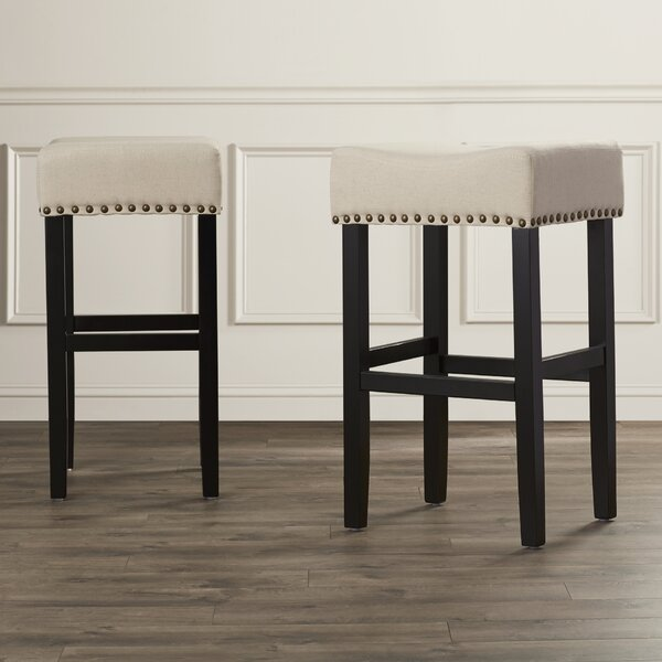 Shaws 30.31 Bar Stool (Set of 2) by Alcott Hill