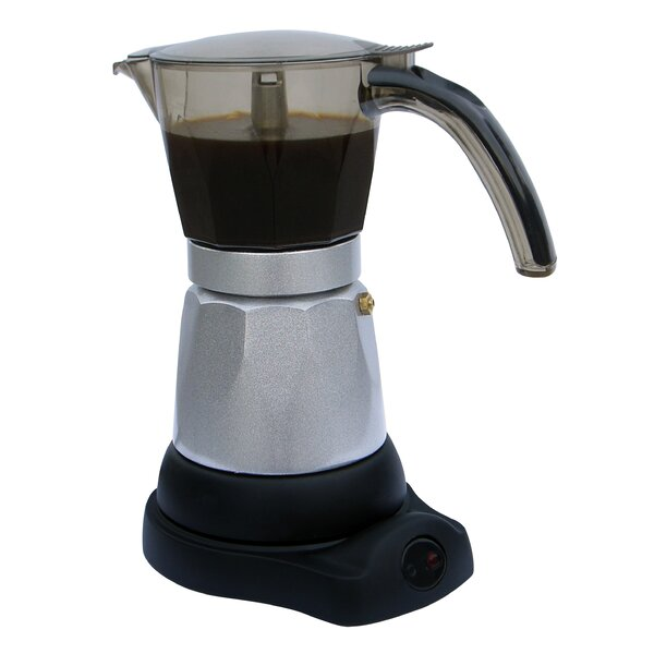 6 Cup Electric Coffee Maker by MBR Industries