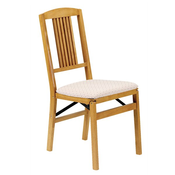 Simple Mission Wood Folding Chair Oak (Set of 2) b