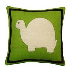 Turtle Wool Throw Pillow by Amity Home