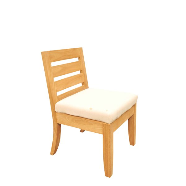 Atnas Folding Teak Patio Dining Chair by Teak Smith
