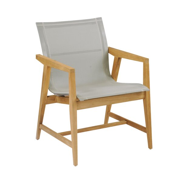 Marin Teak Patio Dining Chair by Kingsley Bate