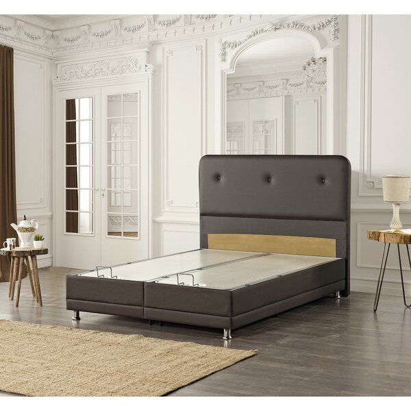 Jobe Queen Upholstered Storage Platform Bed by Latitude Run