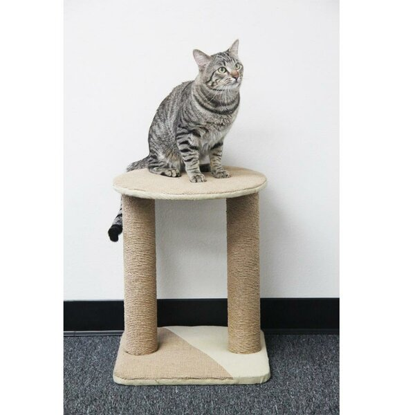 Recycled Paper Rope Cat Perch by PetPals