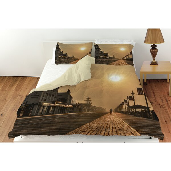 Boardwalk Sunrise Duvet Cover Collection