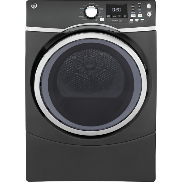 7.5 cu. ft. Electric Dryer with Steam by GE Appliances