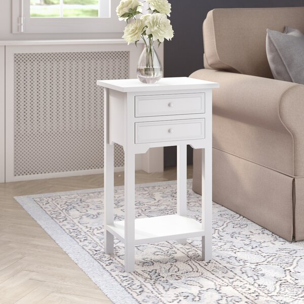 Berwick End Table With Storage by Charlton Home