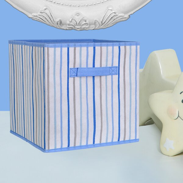 Fabric Cube or Bin by Laura Ashley Home