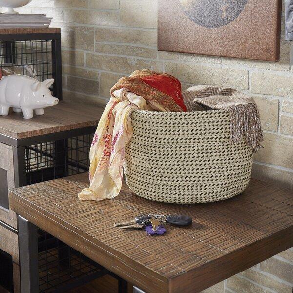 Sandstorm Fabric Basket by Mercury Row