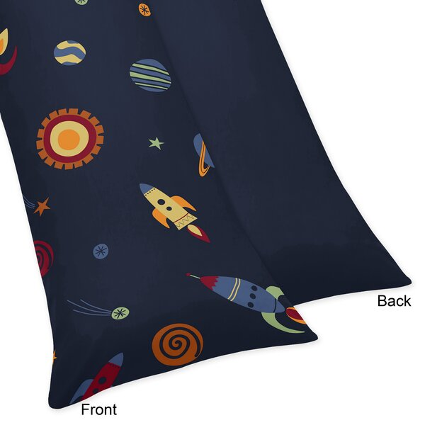 Space Galaxy Body Pillow Case by Sweet Jojo Designs