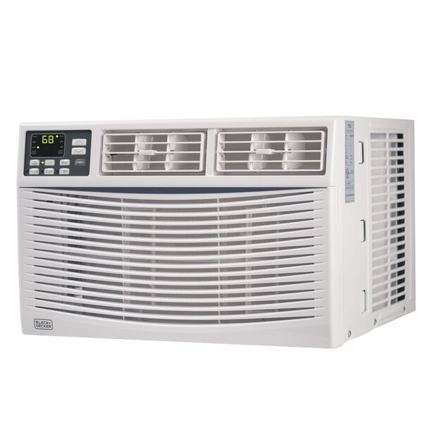 6,000 BTU Energy Star Window Air Conditioner with Remote by Black + Decker