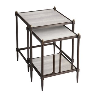 Kendal 2 Piece Nesting Tables by 17 Stories