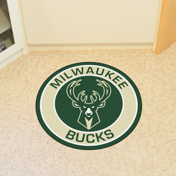 NBA Milwaukee Bucks Roundel Mat by FANMATS