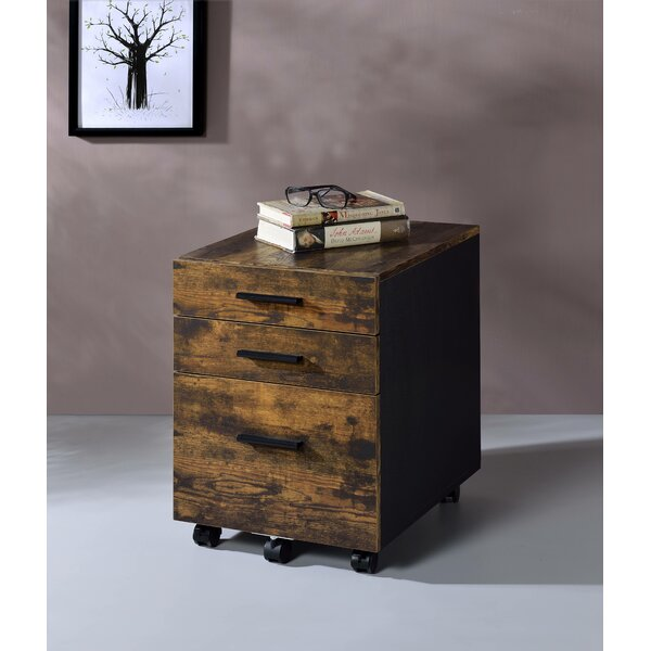 Hofmeister 3-Drawer Mobile Vertical Filing Cabinet