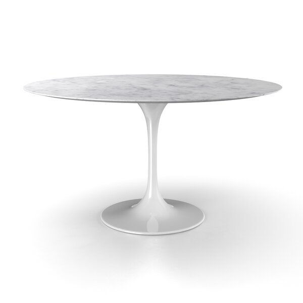 Larkson Carrara Marble Dining Table by Langley Street