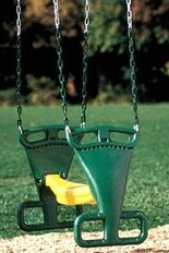 Back to Back Glider with Chain by Creative Playthings