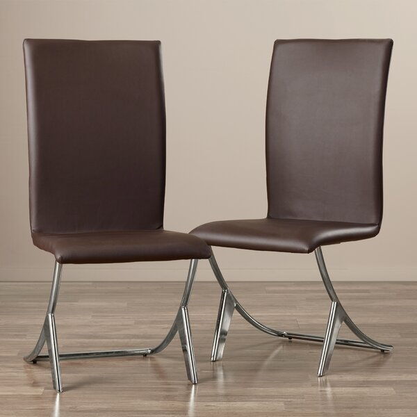 Ashwood Upholstered Dining Chair (Set of 2) by Wade Logan Wade Logan