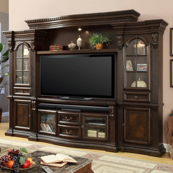 Friedlander Solid Wood Entertainment Center For TVs Up To 70