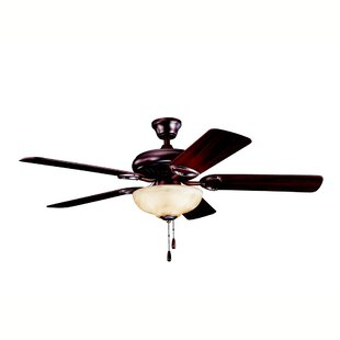 Best 52 Sutter Place Select 5-Blade Ceiling Fan By Kichler