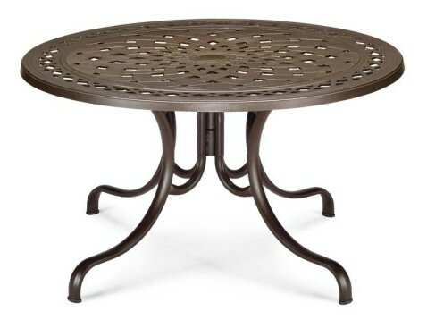 Cast 48 Round Deluxe Dining Table by Telescope Casual