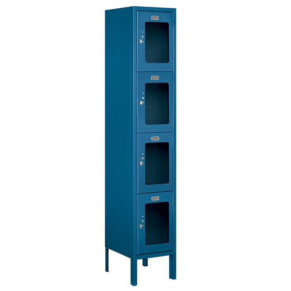 4 Tier 1 Wide Gym and Locker Room Locker by Salsbury Industries4 Tier 1 Wide Gym and Locker Room Locker by Salsbury Industries