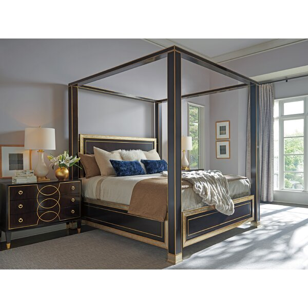 Carlyle Four Poster Solid Wood Configurable Bedroom Set by Lexington