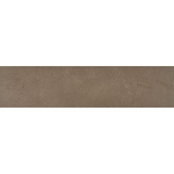 Fairfield 6 x 24 Porcelain Field Tile in Chocolate by Itona Tile