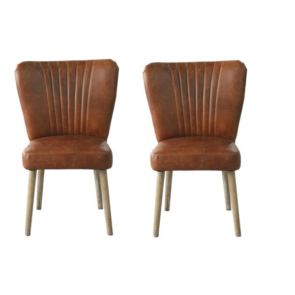 Mia Side Chair (Set of 2) by 17 Stories