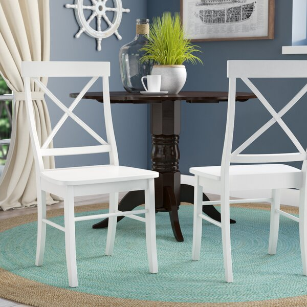 Brookwood Solid Wood Side Chair (Set of 2) by Beachcrest Home