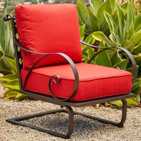 Pettigrew Patio Chair with Cushions (Set of 2) by Fleur De Lis Living Fleur De Lis Living