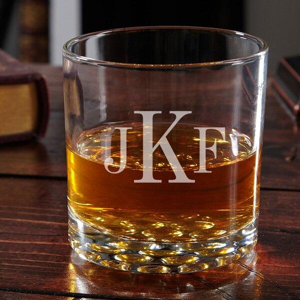 Yokley Personalized 10.25 oz. Whiskey Glass by Alcott Hill