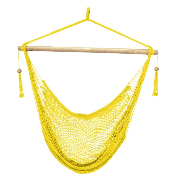 Rojas Rope Chair Hammock by Bay Isle Home