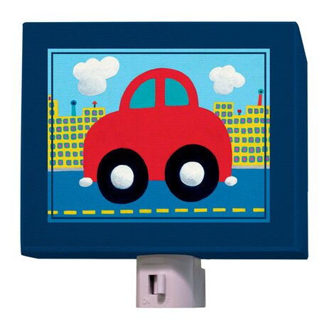 Red Car Night Light by Oopsy Daisy