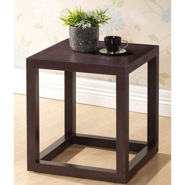 Hetherington Modern End Table by Ebern Designs