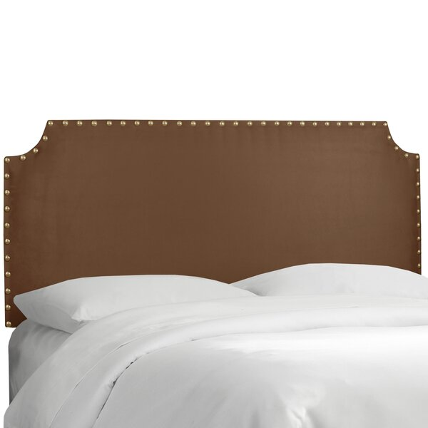Adelia Upholstered Panel Headboard by Darby Home Co