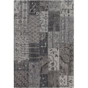Casselman Patterned Contemporary Gray Area Rug
