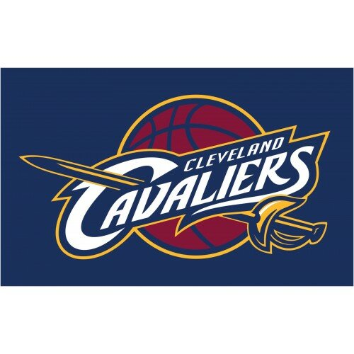 NBA Cleveland Cavaliers Polyester 3 x 5 ft. Flag by NeoPlex