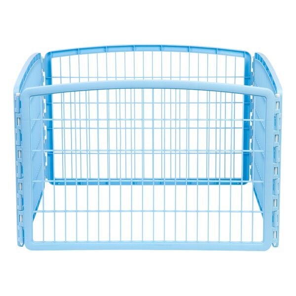 Hannibal Indoor/Outdoor Plastic Pet Pen by Tucker Murphy Pet