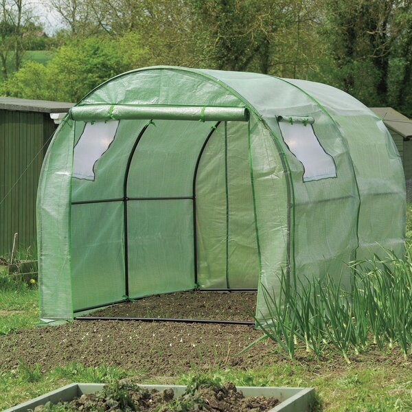 6.7 Ft. W x 9.1 Ft. D Hobby Greenhouse by World Source Partners