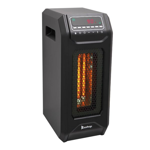 Portable 1,500 Watt Electric Infrared Cabinet Heater By Zimtown