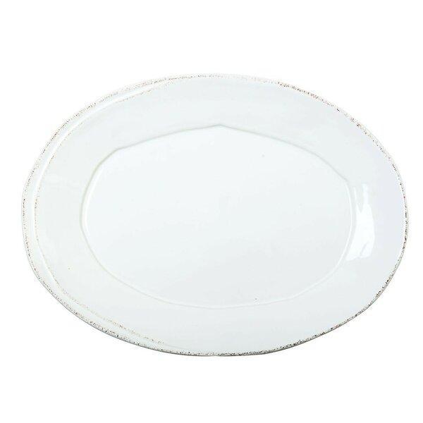 Lastra Oval Platter by VIETRI