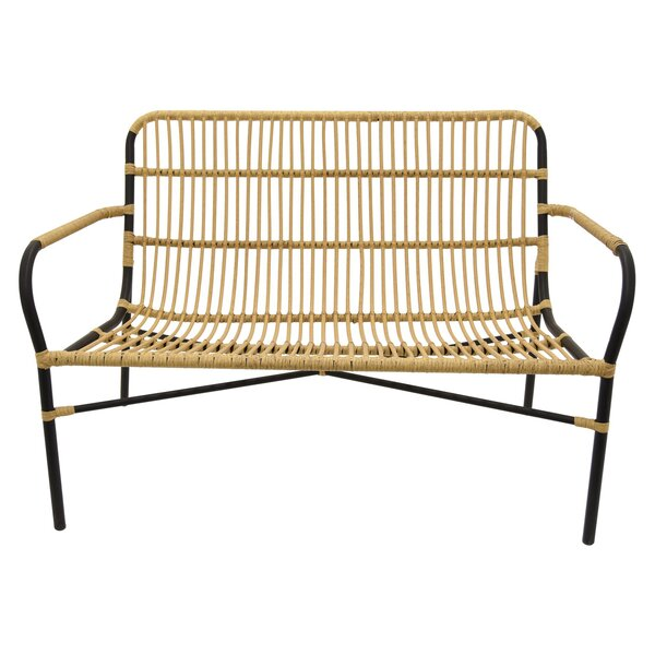 Kelsch Metal Garden Bench by Bayou Breeze