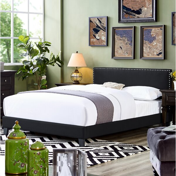 Dunkelberger Queen Upholstered Platform Bed by Winston Porter