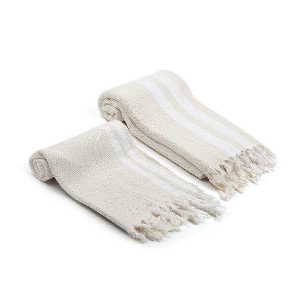 Swynford 2 Piece Turkish Cotton Towel Set by Rosecliff Heights