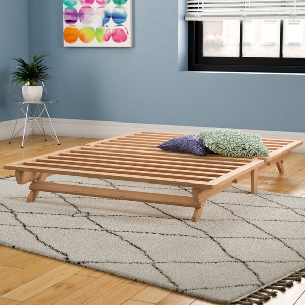 Modern  Evie Platform Bed By Andover Mills Discount