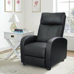 Surprising Benchmaster Leather Recliner Wayfair Creativecarmelina Interior Chair Design Creativecarmelinacom