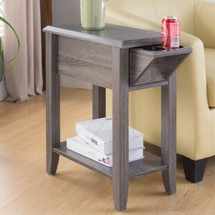 Albertyne End Table with Storage