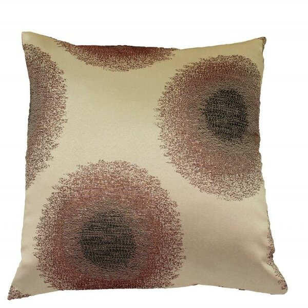 Emblem Throw Pillow by Violet Linen