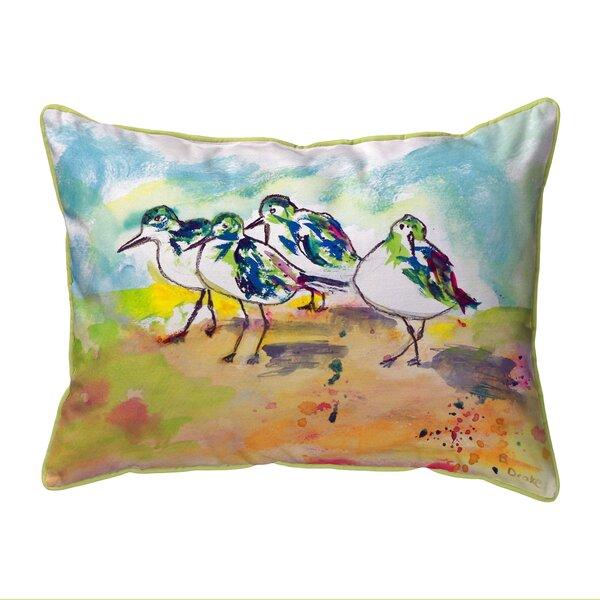 Sanderlings Indoor/Outdoor Lumbar Pillow