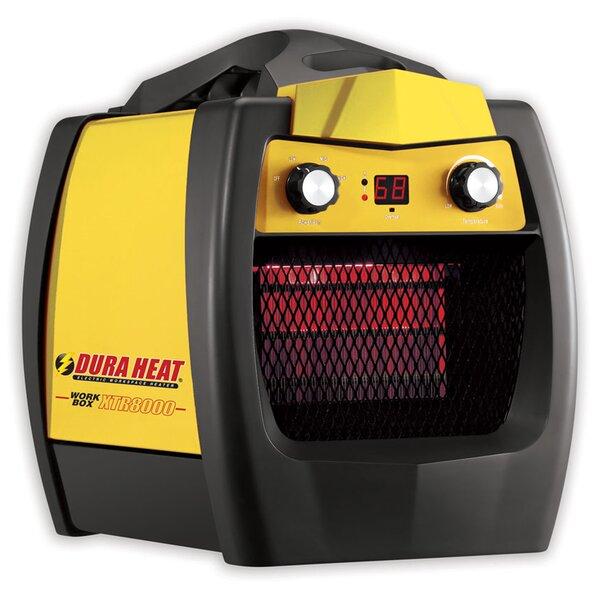 5200 BTU Portable Electric Fan Workbox Utility Heater By World Marketing